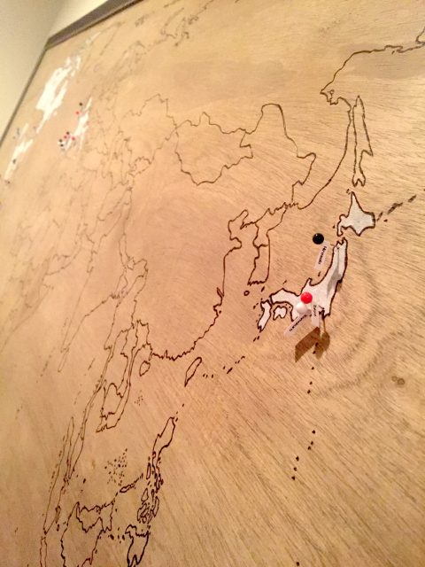 Japan on my custom map